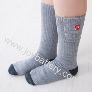 China 2014 Lastest design battery heated socks on sale