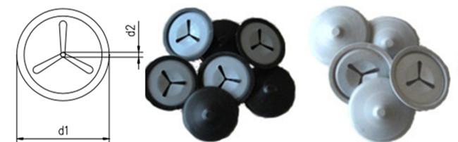 Custom Self Locking Washers Caps For Insualtion Pins Diameter 20mm,30mm,40mm