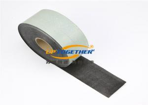 China Polypropylene Fiber Woven Cold Applied Tape For Pipeline CBT - B PP Rubber on sale