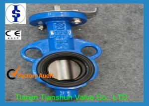 China Automated Semi Lugged Butterfly Valves / Air Actuated Butterfly Valve Flange on sale