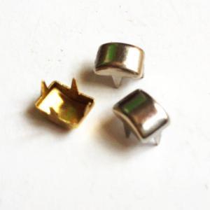 China Nailheads decorativo para los dientes de cuero del proyecto 4; Cabezas pinchadas del clavo de la pierna larga; Metal Nailhead de cuero on sale