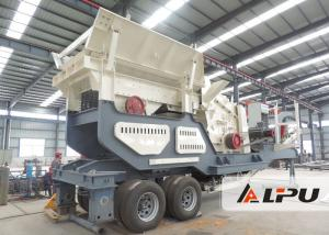 China Energy Saving Mining Iron Ore Mobile Crushing Plant for On - site Crushing on sale