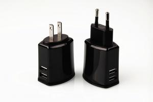 China Fast charging speed 5V 3.4A dual USB AC wall charger for mobile phones on sale