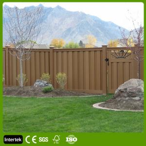 China Anti-UV Fences Fencing with Wood Plastic Composite Building Materials on sale