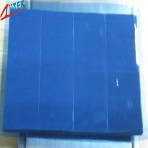 Quality disipador de calor azul que refresca termalmente el cojín de goma de silicona bajo Ultrasoft de la resistencia termal del reemisor de isofrecuencia 2.0W/mK 45 shore00 for sale