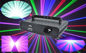 China Micro-step Motor DMX512 Full Color Laser Projector L398RGB on sale