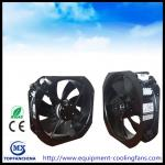 11 Inch AC 220V Axail Industrial Cooling Fans Ball Bearing Black Painting Aluminue Frame