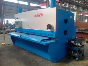 China CNC Hydraulic Steel Plate Shearing Machine Metal Cutting Machinery for Industrial on sale