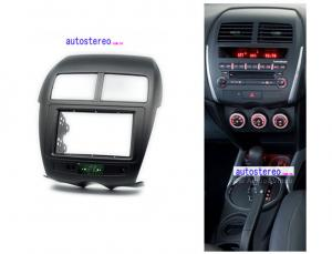 China Professional Vehicle Radio Fascia Kit for MITSUBISHI ASX CITROEN C4 PEUGEOT 4008 on sale
