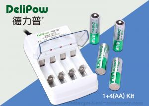 China ROHS / UL / CE Approved	AA Rechargeable Battery Kit 4 2800mAh on sale
