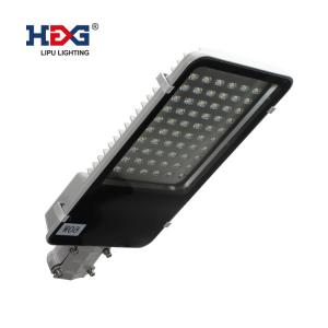 China Hollow Out Structure Smart Street Light , Led Roadway Lighting For Residential Roads on sale