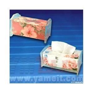 China Acrylic tissue box on sale