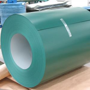 China High Definition Color Coated Aluminum Coil  Fire - Resistant Environmental Friendly on sale