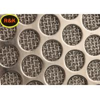 SS Wire Mesh Filters Heat Resistance Multilayer Hot Fluid Filtration
