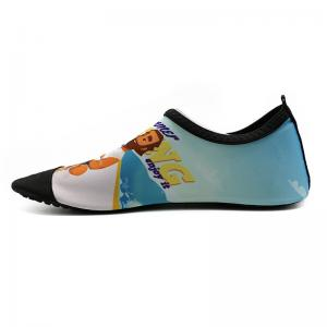 China PVC Outsole Lycra Upper Barefoot Aqua Socks / Water Aqua Shoes on sale