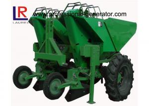 China 3 Point Hitch Tractor Potato Planter With Double Share Furrow , 2 Ridge 2 Rows on sale