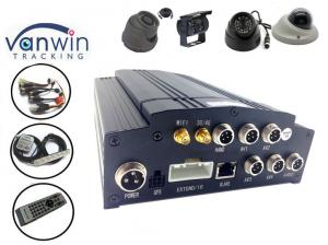 China 1080P HD 4CH DVR Car Camera Video Recorder With World Class Anti vibration Tech on sale