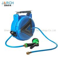 China Automatic Water Retractable Hose Reel Drums Extension Power Cord Type CE Approval on sale