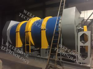 China 110 / 220 / 380V Kiln Dry Machine , Simple Structure Rotary Dryer Machine on sale
