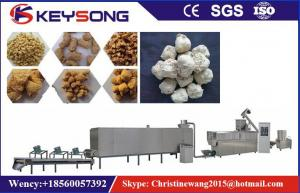 China Output 100 - 150kg / H  Soya Meat Making Machine 70kw Low Energy Consumption on sale