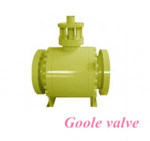China Soft Seal Trunnion Mounted Ball Valve on sale