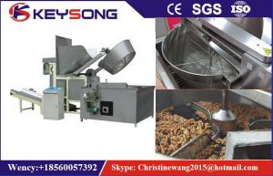 China Oil - Water Mixed Food Processing Machinery Potato Chips Frying Machine on sale