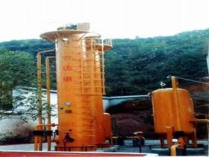 China Flue Gas Desulfurization System Tower , Flue Gas Treatment System 3-12 M3 Volume on sale