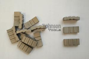 China 102mm core bits segments for concrete, reinforced concrete cutting., turbo segments, 24x4.5x10mm. Fast drilling. on sale