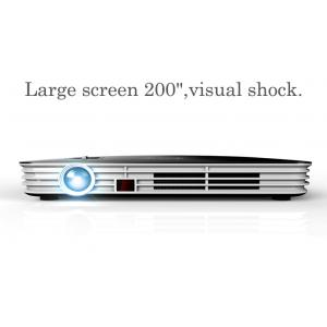 China Wireless 1500lm HDMI VGA 1080P Home Theater Projector 3D LED Projectors on sale