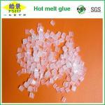 低温の熱い溶解の端バンディングの接着剤の餌、透明で白い餌