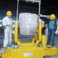 Anti Heat Ladle Transfer Cart No Pollution For Hot Metal 12 Months Warranty