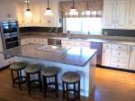 Spain Azul Platino Granite Countertop price Speckled Stone Slab Kitchen