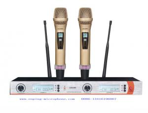 China UGX9II wireless microphone system UHF IR selecta ble frequency PLL  competetive low price rack ear SHURE on sale