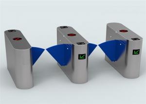 China Card Validator Checkpoint station / brt fast speed flap barrier turnstile 5 million operation times on sale