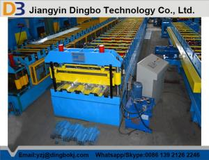China Durable Metal Door Production Line Floor Deck Roll Forming Machine With ISO Certification on sale