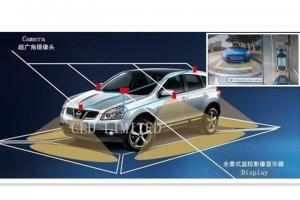 China 360 градусов вокруг записи системы камеры взгляда с траекторией стоянки выравниваются, всеобщая модель, система взгляда птицы on sale