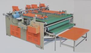 China Semi-auto Pressure Folder Gluer, Non-standard Carton Box Folding + Gluing on sale