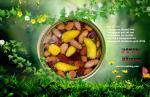Transparent canned food,Transparent peel off end,Transparent tin can lids,Can with a transparent lid,Transparent membran