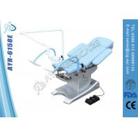 Mobile Obstetric Delivery Bed Medical Exam Room Furniture With Arm Astral Lamp