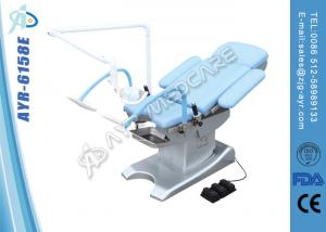 China Mobile Obstetric Delivery Bed Medical Exam Room Furniture With Arm Astral Lamp on sale