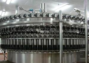 China Automatic Carbonated Drink Filling Machine , Aerated Water Soda Bottling Equipment on sale