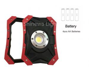 China 5W High Lumen Rechargeable Led Work Light Portable Cordless With AA Battery on sale