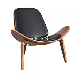 China Italy Latest Design Solid Wood Home Coffee Shop Lounge Leisure Chair on sale