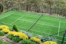 China Artificial turf for tennis court & Cricket on sale