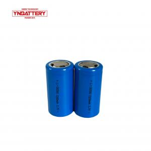 China Cylindrical lithium battery 3.7v 3200mAh ICR 26650 for solar storage UPS and electric bike battery on sale