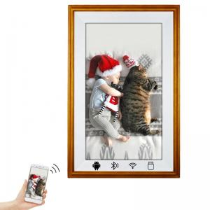 China 200cd/m2 49in 3840*2160 Wifi Digital Photo Frame Voice Recording on sale