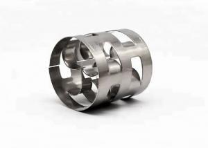 China 2 Inch Stainless Steel Pall Rings 50mm Size Ss304 Material 16# Type on sale