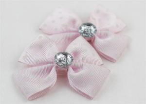 China Fancy Craft Ribbon Bows Hair Accessories , Pretty Ribbon Bows Woven on sale