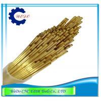 China 0.5x400mmL Double Hole EDM Brass Tube / Eletrode Tube For EDM Drill Machine on sale