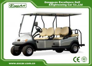 China Curtis Controller 6 Passenger Electric Car , Motorised Golf Cart Club Car on sale